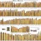 """Big Bore Chart 18""""x28"""" (45cm/70cm) Canvas Print"""
