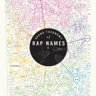 "Grand Taxonomy of Rap Names Chart  18""x28"" (45cm/70cm) Canvas Print"