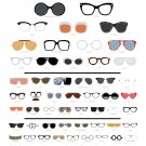 """The Chart of Famous Eyewear  18""""x28"""" (45cm/70cm) Poster"""