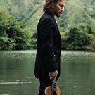 "Eddie Vedder  Pearl Jam   18""x28"" (45cm/70cm) Canvas Print"