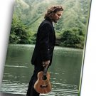 "Eddie Vedder Pearl Jam  8""x12"" (20cm/30cm) Canvas Print"