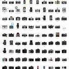 "A Visual Compendium of Cameras Chart  18""x28"" (45cm/70cm) Poster"