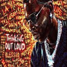 """Young Dolph  13""""x19"""" (32cm/49cm) Polyester Fabric Poster"""