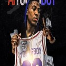 "AI YoungBoy  13""x19"" (32cm/49cm) Polyester Fabric Poster"