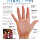 "Interpreting your Minor Lines Palmistry Chart  18""x28"" (45cm/70cm) Poster"