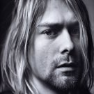 "Kurt Cobain  13""x19"" (32cm/49cm) Polyester Fabric Poster"
