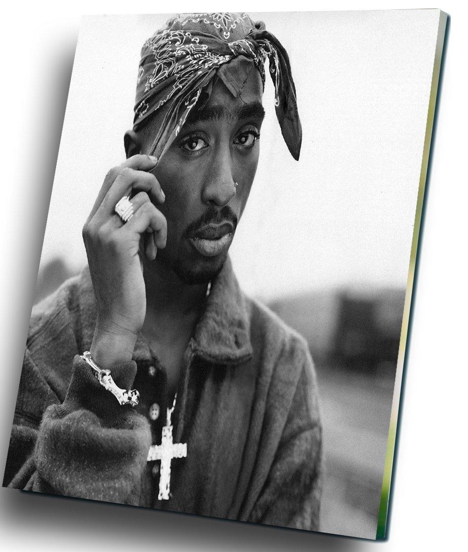 "Tupac Shakur 2Pac 12""x16"" (30cm/40cm) Canvas Print"