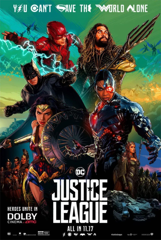 """Justice League  13""""x19"""" (32cm/49cm) Poster"""
