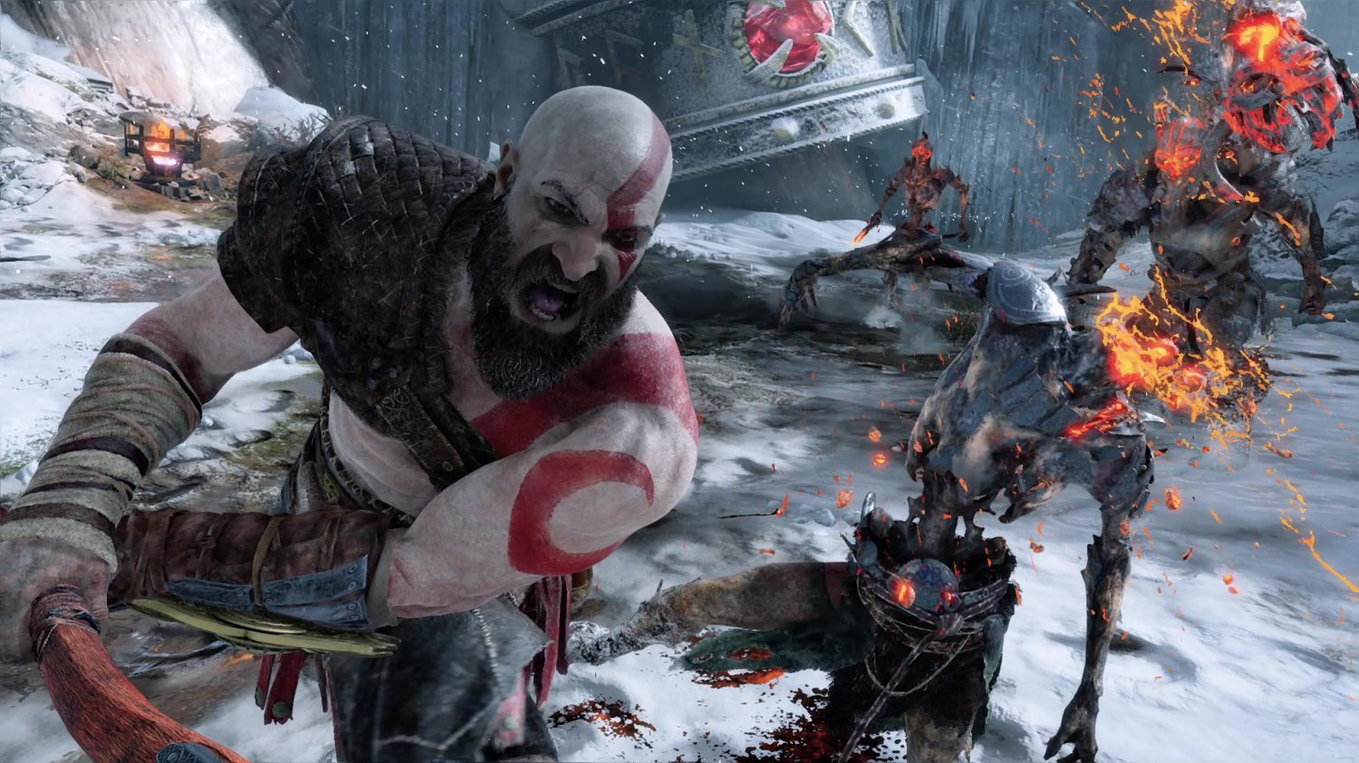 "God of War 2018  Game 13""x19"" (32cm/49cm) Poster"