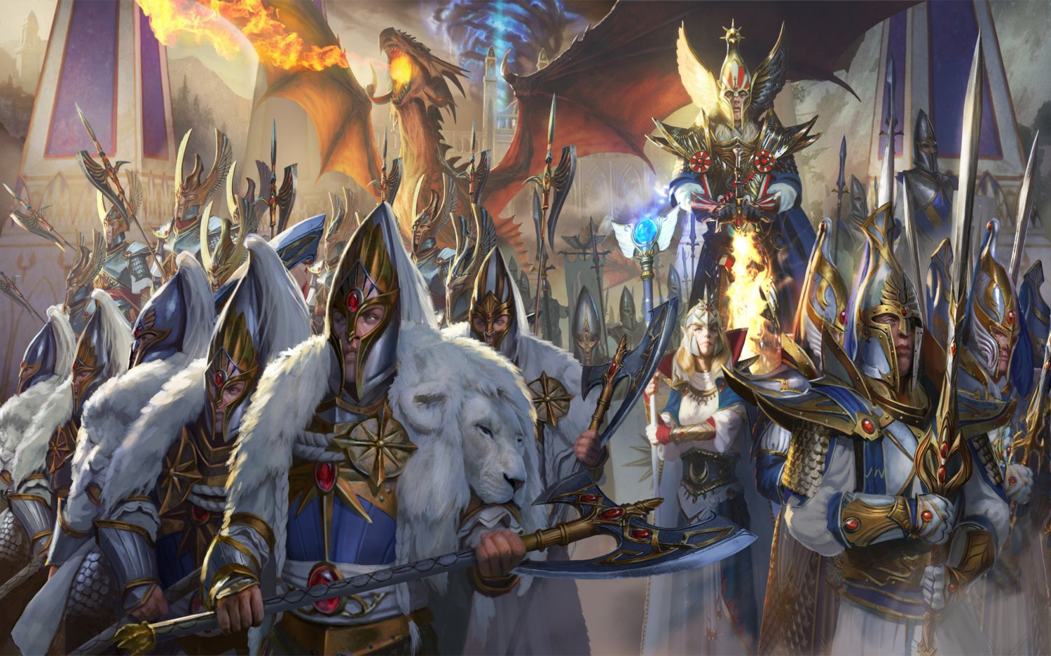 "Total War WARHAMMER II  18""x28"" (45cm/70cm) Canvas Print"