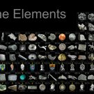 """Graphical Periodic Table of Elements Chart  18""""x28"""" (45cm/70cm) Canvas Print"""