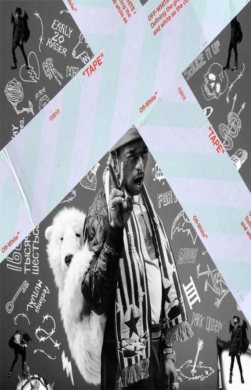 "Lil Uzi Vert   13""x19"" (32cm/49cm) Poster"
