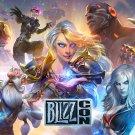 "BlizzCon 2017 Game  13""x19"" (32cm/49cm) Poster"