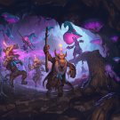 "Hearthstone Kobolds and Catacombs  Game  13""x19"" (32cm/49cm) Poster"