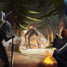 """Hearthstone Kobolds and Catacombs Game  18""""x28"""" (45cm/70cm) Poster"""