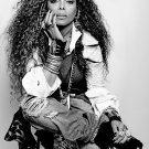 """Janet Jackson  18""""x28"""" (45cm/70cm) Canvas Print"""