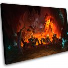 "Hearthstone Kobolds and Catacombs  12""x16"" (30cm/40cm) Canvas Print"