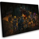 "Hearthstone Kobolds and Catacombs  12""x16"" (30cm/40cm) Canvas Print"