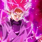 "Goku Black Super Saiyan Rose  13""x19"" (32cm/49cm) Poster"