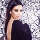 """Kim Kardashian  18""""x28"""" (45cm/70cm) Canvas Print"""