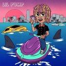 "Lil Pump  13""x19"" (32cm/49cm) Canvas Print"