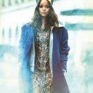 "Rihanna  13""x19"" (32cm/49cm) Canvas Print"