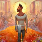 "Jon Bellion 13""x19"" (32cm/49cm) Canvas Print"