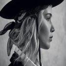"Jennifer Lawrence  18""x28"" (45cm/70cm) Canvas Print"