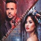 "Luis Fonsi Demi Lovato  13""x19"" (32cm/49cm) Polyester Fabric Poster"