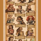 "How Disney Princess Celebrate Oktoberfest Chart  13""x19"" (32cm/49cm) Poster"