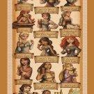 "How Disney Princess Celebrate Oktoberfest Chart 18""x28"" (45cm/70cm) Poster"