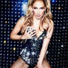 "Jennifer Lopez 13""x19"" (32cm/49cm) Canvas Print"