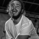 """Post Malone   13""""x19"""" (32cm/49cm) Polyester Fabric Poster"""