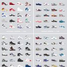 """Basketball and Running Sneakers Chart  18""""x28"""" (45cm/70cm) Poster"""