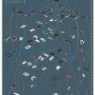 """The Evolution of Video Game Controllers Chart  18""""x28"""" (45cm/70cm) Canvas Print"""