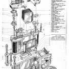 "Nikon Camera Structure Chart  18""x28"" (45cm/70cm) Canvas Print"