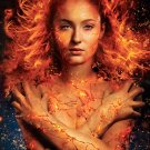 "X-Men Dark Phoenix  Sophie Turner  18""x28"" (45cm/70cm) Canvas Print"