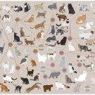 """Cats Categorized Chart  18""""x28"""" (45cm/70cm) Canvas Print"""