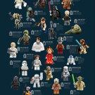 "Lego Star Wars Asset Chart 18""x28"" (45cm/70cm) Poster"