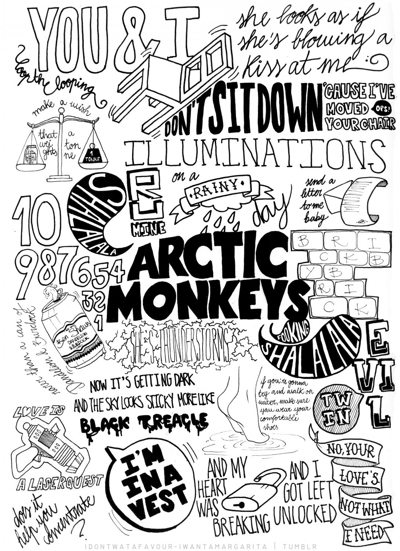 """Arctic Monkeys   18""""x28"""" (45cm/70cm) Canvas Print"""