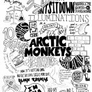 "Arctic Monkeys   18""x28"" (45cm/70cm) Canvas Print"