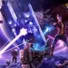 "Borderlands The Pre Sequel Handsome Jack Game 18""x28"" (45cm/70cm) Canvas Print"