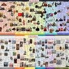 "Interesting History Facts World Chart  18""x28"" (45cm/70cm) Poster"