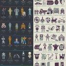 "Evolution of Robots in Films Chart  18""x28"" (45cm/70cm) Poster"