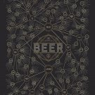 "The Diagram of Beer Chart 18""x28"" (45cm/70cm) Poster"
