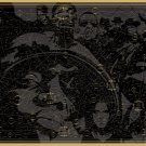 """Pop Chart Lab Rap Map 18""""x28"""" (45cm/70cm) Canvas Print"""