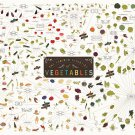 "The Various Varieties of Vegetables Chart 18""x28"" (45cm/70cm) Canvas Print"