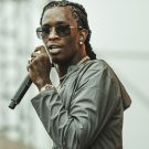 """Young Thug  13""""x19"""" (32cm/49cm) Polyester Fabric Poster"""
