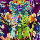 """Rick and Morty  13""""x19"""" (32cm/49cm) Polyester Fabric Poster"""