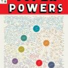 "The Illustrious Omnibus of Super powers Chart  18""x28"" (45cm/70cm) Canvas Print"